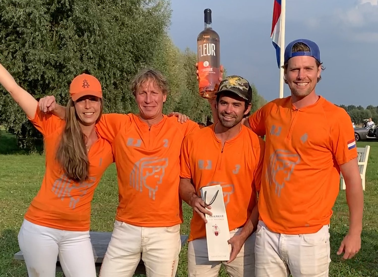 HERA with Larissa Esser, Jim Souren, Aki van Andel and Santiago Shanahan wins the GOLD CUP BROOKLYN POLO CUP 2021 !